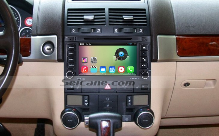 remplacement pour android 4 4 4 2003 2011 vw volkswagen touareg autoradio avec syst me de gps. Black Bedroom Furniture Sets. Home Design Ideas
